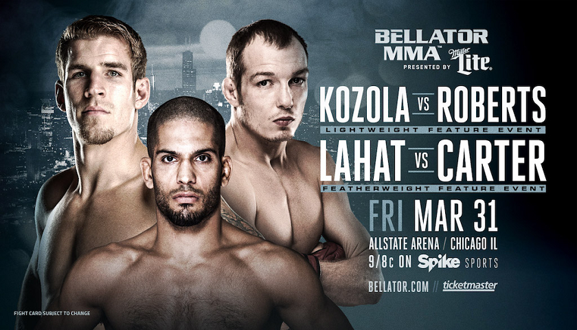 Two New Main Card Bouts Complete Bellator 175 on March 31