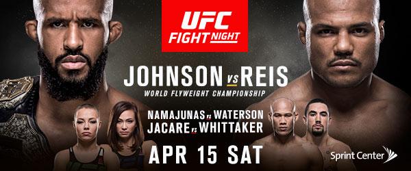 Demetrious Johnson Defends His World Title In UFC'S Kansas City Debut