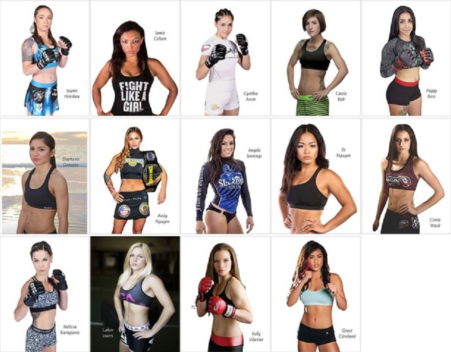 King of the Cage signs 14 women
