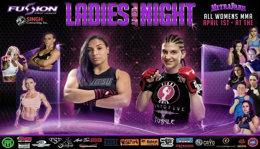 April Fools' Day is 'Ladies Night' at Fusion Fight League – Roxanne Modafferi headlines Saturday