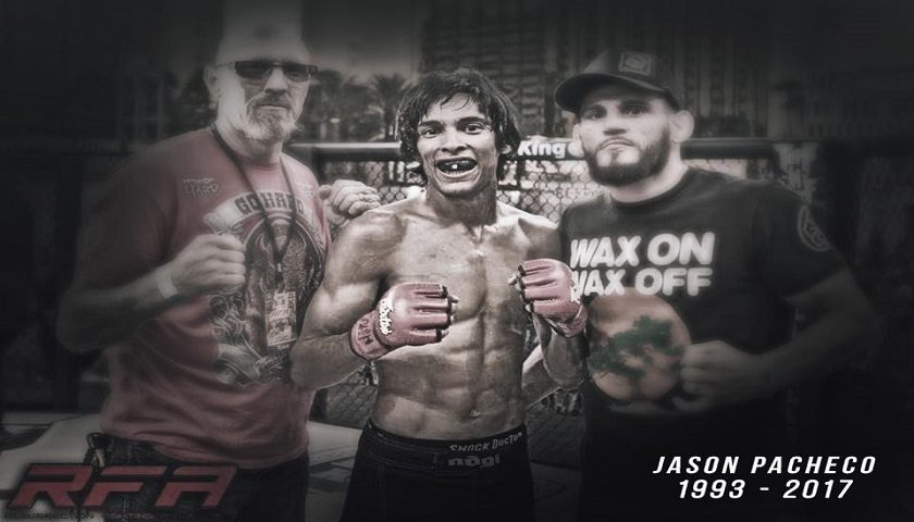 24-year old MMA competitor, Jason Pacheco Jr., dead after motorcycle accident