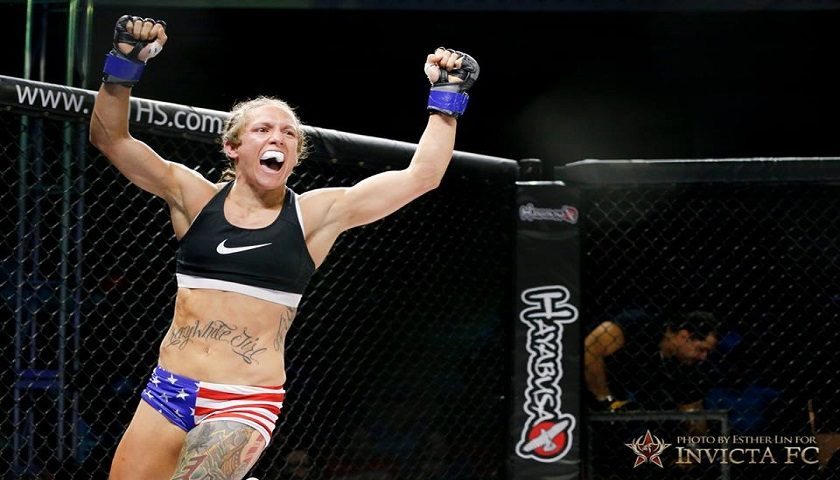 """"""".50 Kal"""" Kalyn Holliday: I want Invicta to trust I'm a reliable and available fighter"""