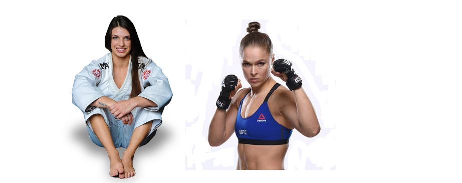 Mackenzie Dern on if she rolled with Ronda Rousey: I'd tap her two, three times
