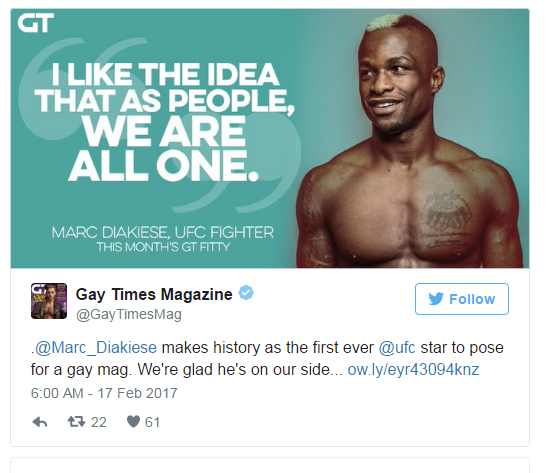 Marc Diakiese - Gay Times Magazine