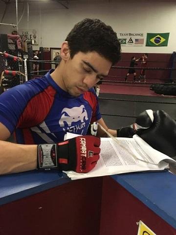Matt Lozano signs CES MMA contract