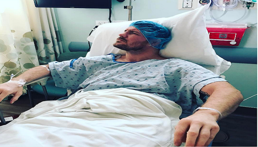 UFC middleweight champ Michael Bisping recovering after minor procedure to knee