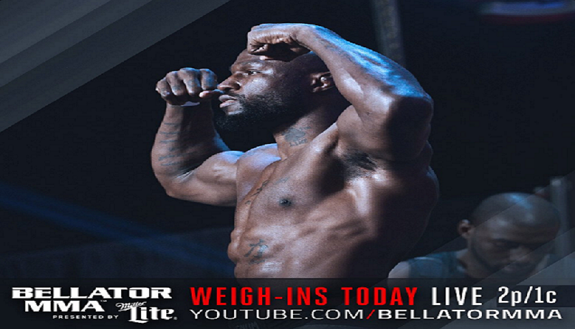 WATCH:  Bellator 175 weigh-ins – Rampage vs. King Mo – 2pm EST/1pm CST