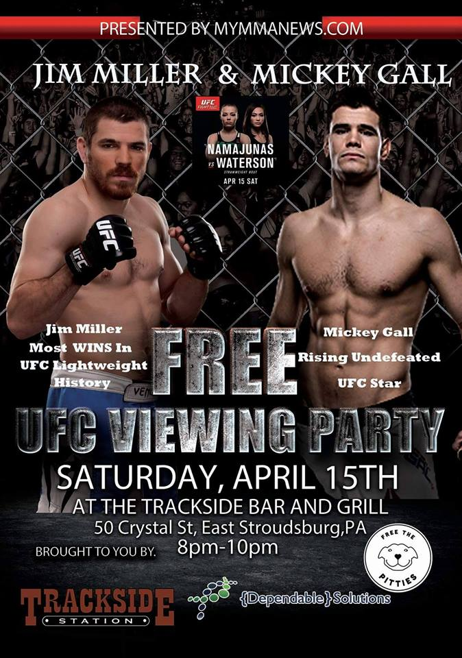 Jim Miller and Mickey Gall