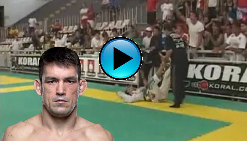 #ThrowbackThursday - Demian Maia put to sleep by Romulo Barral