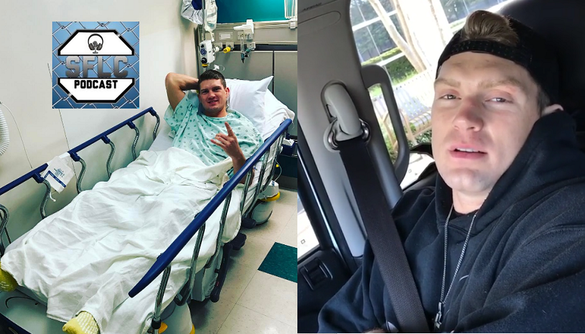 Stephen 'Wonderboy' Thompson discusses yesterday's surgery