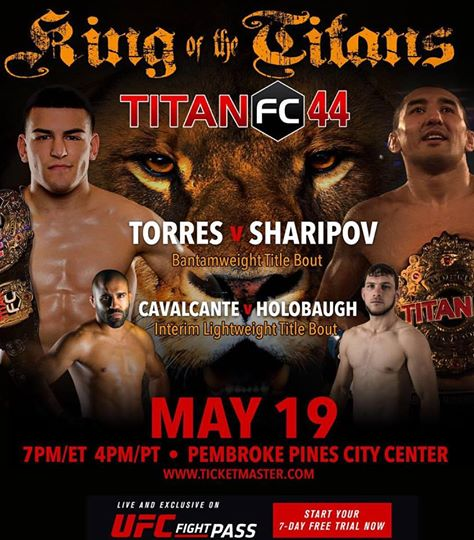 titan fc 44, jose shorty torres