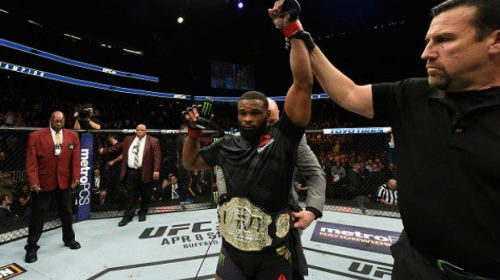 "Tyron Woodley: ""I'm always welcome to any challenger, just make it to that point"""