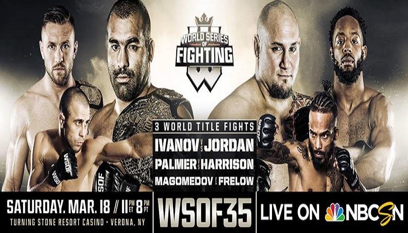 WATCH: WSOF 35 weigh-ins 5pm EST