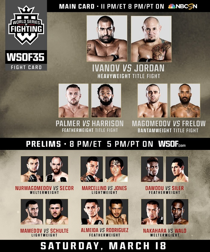 WSOF 35 fight card