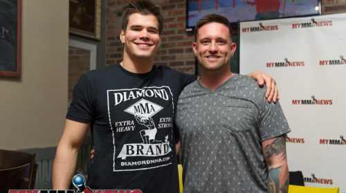 Mickey Gall and Mike Tepedino (owner of Trackside Station Grill & Bar)
