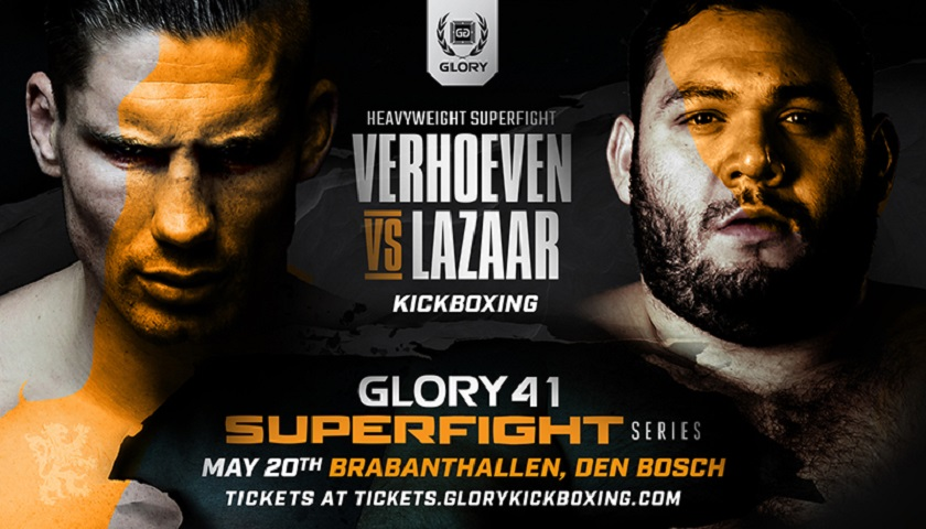 GLORY Signs Former Enfusion Champion Ismael Lazaar To Face Rico Verhoeven in GLORY 41