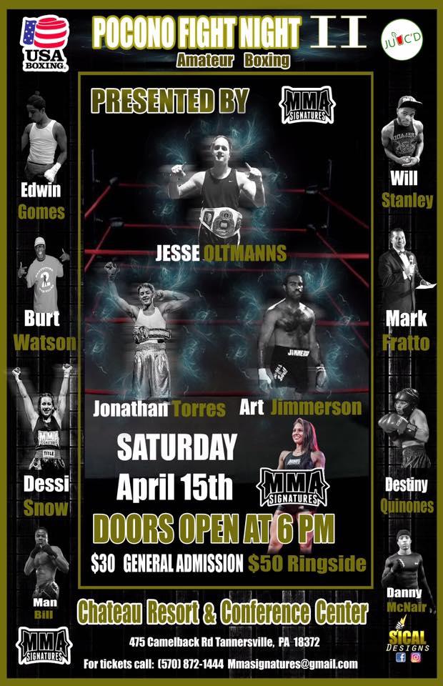 Pocono Fight Night 2