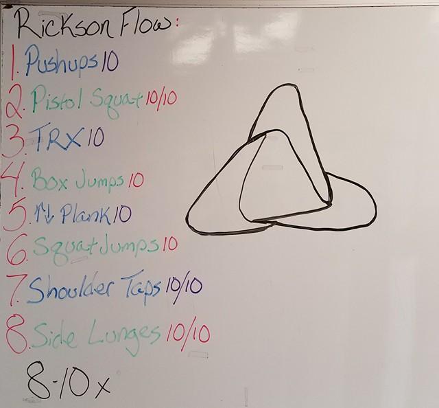 Rickson Flow - Workout