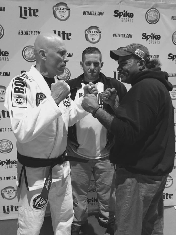 Art Jimmerson and Royce Gracie, Bellator 178