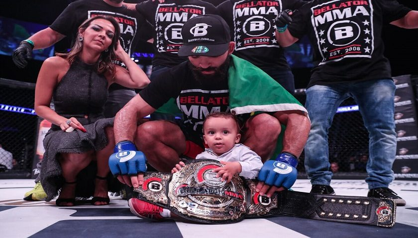 Patricio Pitbull earns Bellator MMA featherweight title for second time