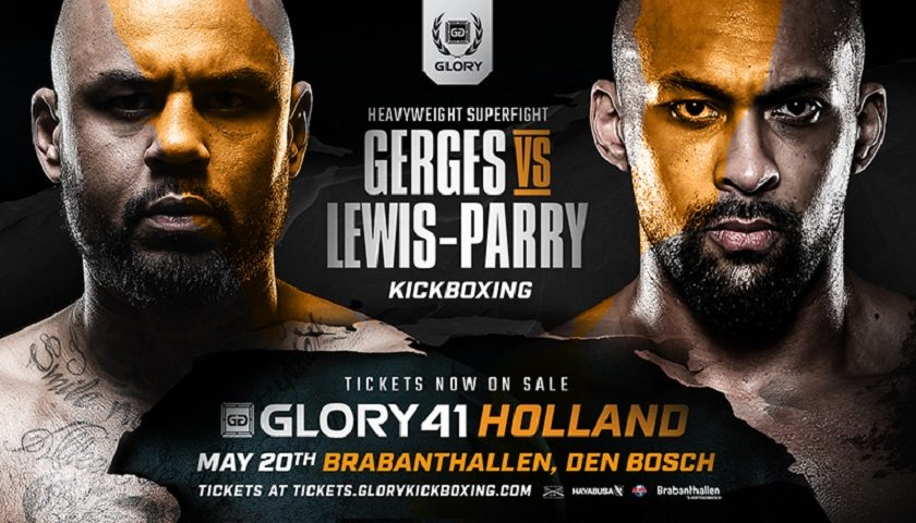 Hesdy Gerges and Chi Lewis-Parry Meet at GLORY 41 Holland
