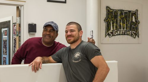 UFC 1 competitor Art Jimmerson stopped by Jim Miller's seminar