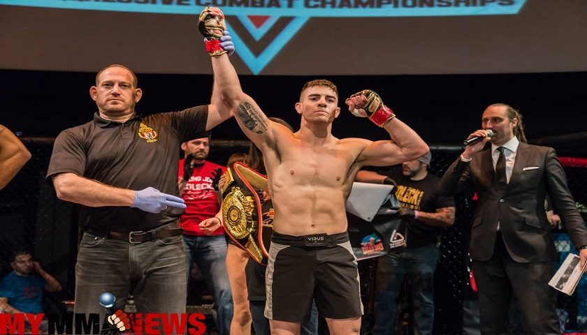 Undefeated rising CFFC star, Joe Solecki attributes early MMA successes to familiarity of losing in BJJ