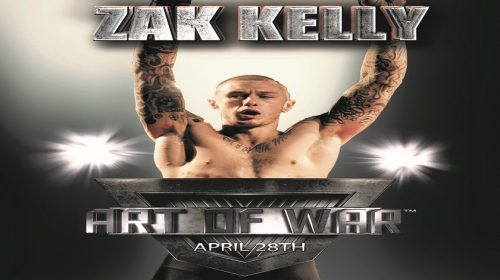 Zak Kelly of Gracie 717 aims to stay undefeated at Art Of War 1