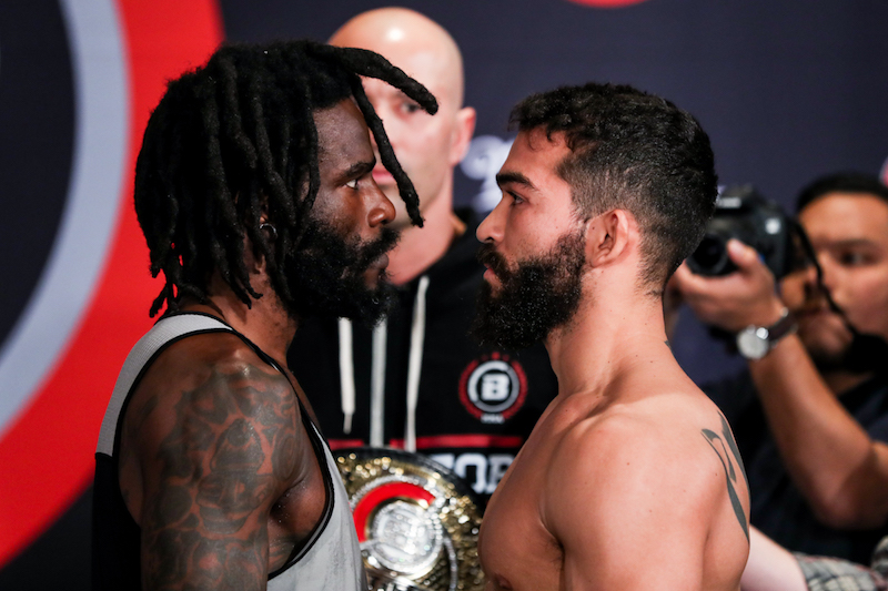 "Featherweight World Title Main Event:Daniel Straus (145) vs. Patricio ""Pitbull"" Freire (144)"