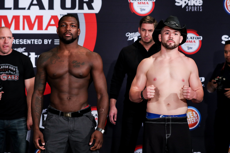 Welterweight Preliminary Bout:Ed Ruth (185.5) vs. David Mundell (184.25)