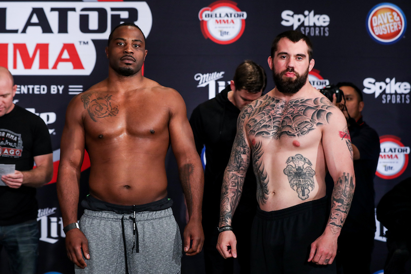 Heavyweight Preliminary Bout: Tyrell Fortune (244.5) vs. Branko Busick (220)