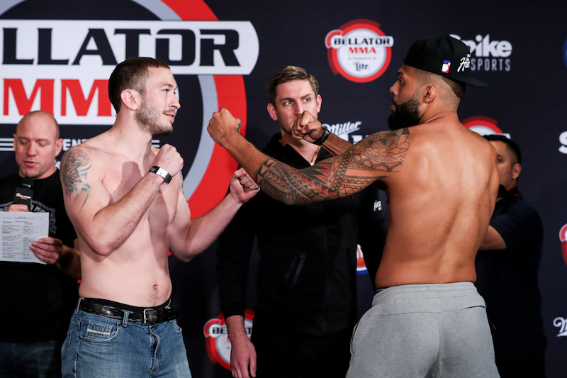 Catchweight Preliminary Bout: Tim Caron (195) vs. Jordan Young (195)