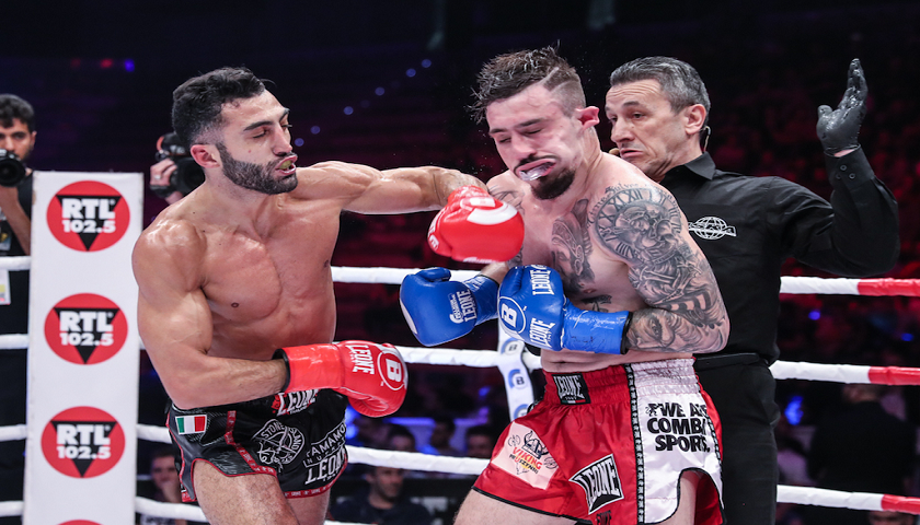 Bellator Kickboxing 5 Results from Torino, Italy