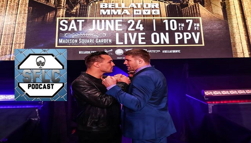 SFLC Podcast - Brent Primus talks Bellator NYC title shot against Michael Chandler
