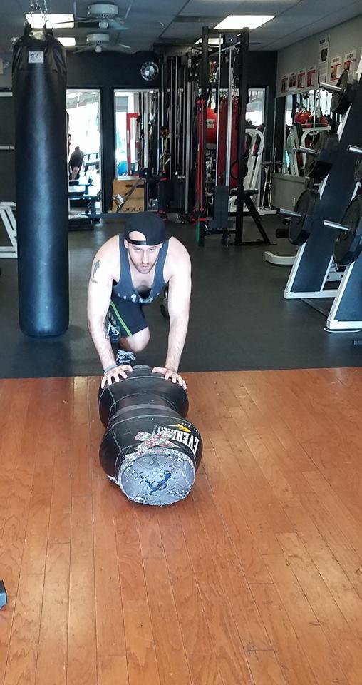 Jamie Varner C-4 workout