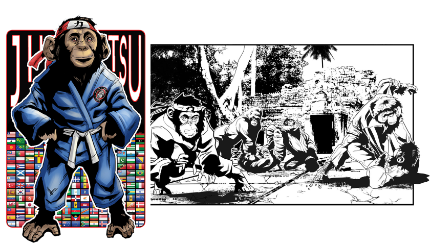 Partake in creating the greatest martial arts story ever told in comic book form