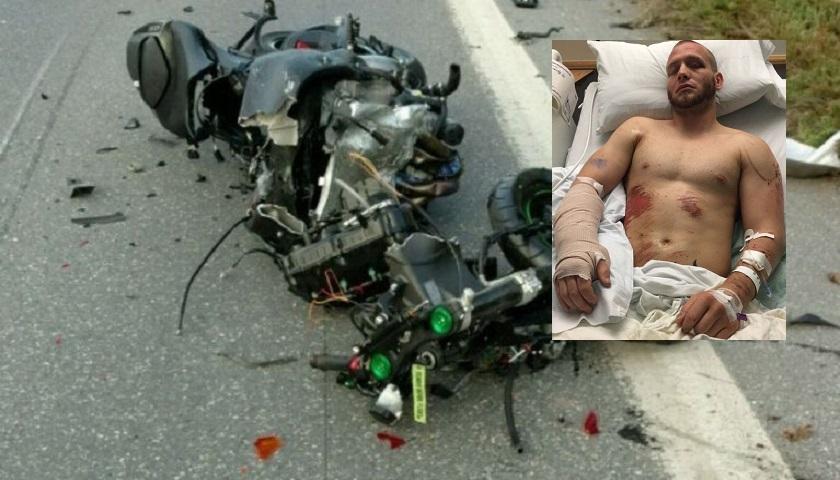 Darrell Horcher recalls horrific motorcycle accident, seeks UFC return fight against Devin Powell