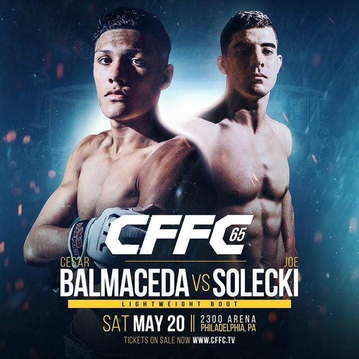 Joe Solecki vs. Cesar Balmaceda at CFFC 65