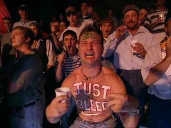 Just Bleed Guy - Drunk MMA fans