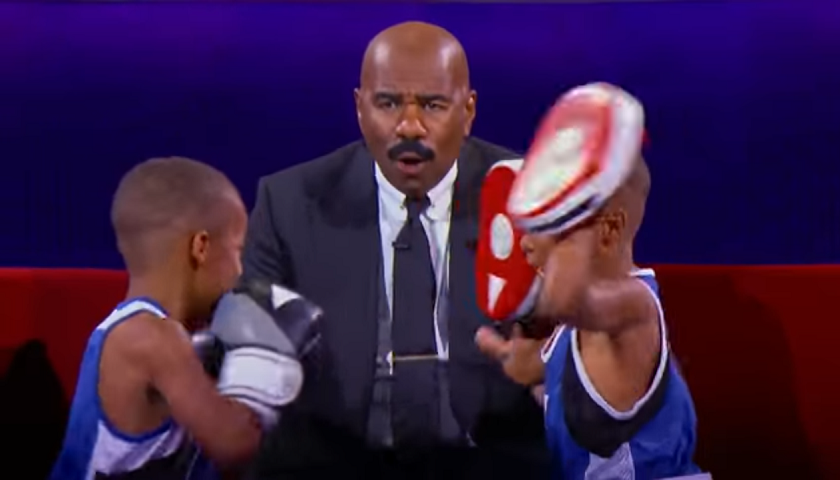 """Little Big Shots"" features talented eight-year old twin boxers"