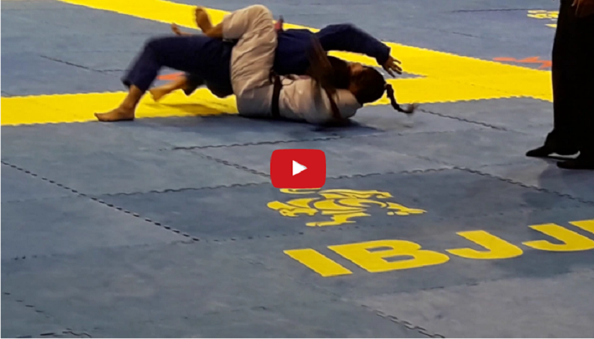 WATCH: Mackenzie Dern submitted at IBJJF's Rio Falls