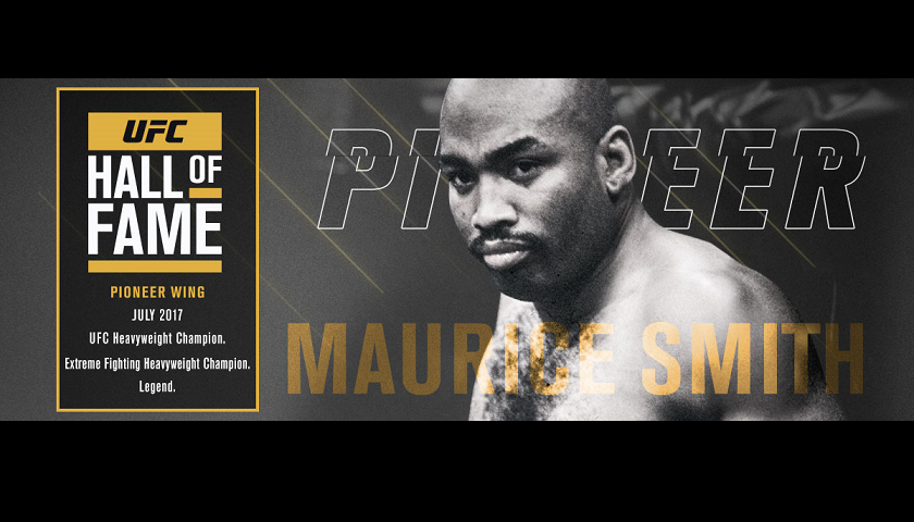Former UFC heavyweight champ Maurice Smith to be inducted to Hall of Fame