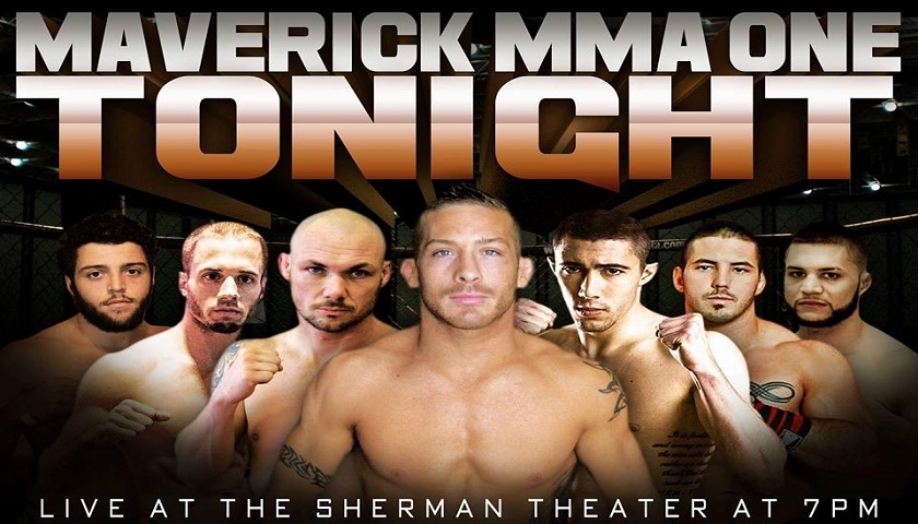 Maverick MMA 1 Results from Sherman Theater in Stroudsburg, PA