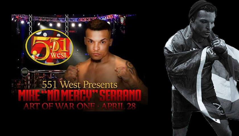 Mike 'No Mercy' Serrano ready for second pro fight at Art Of War