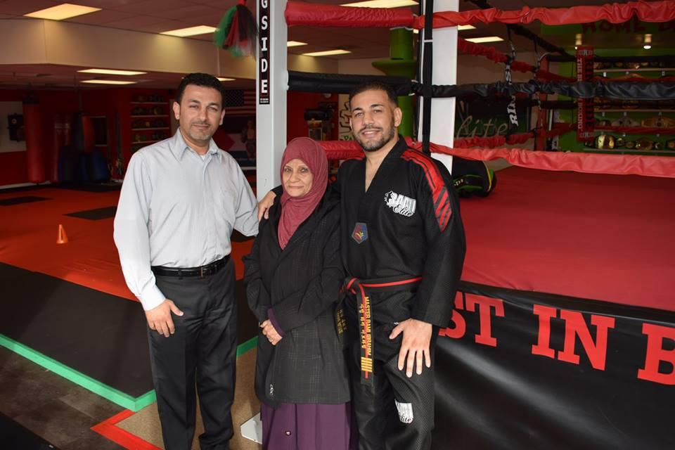 Rami Ibrahim and family