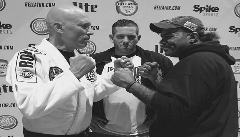 23 years after UFC 1 fight, Royce Gracie and Art Jimmerson face off for first time, while at Bellator 178