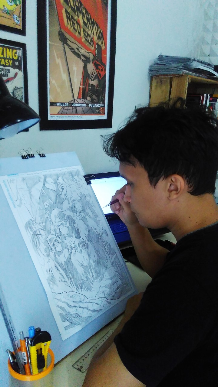 Ton Lima - comic book