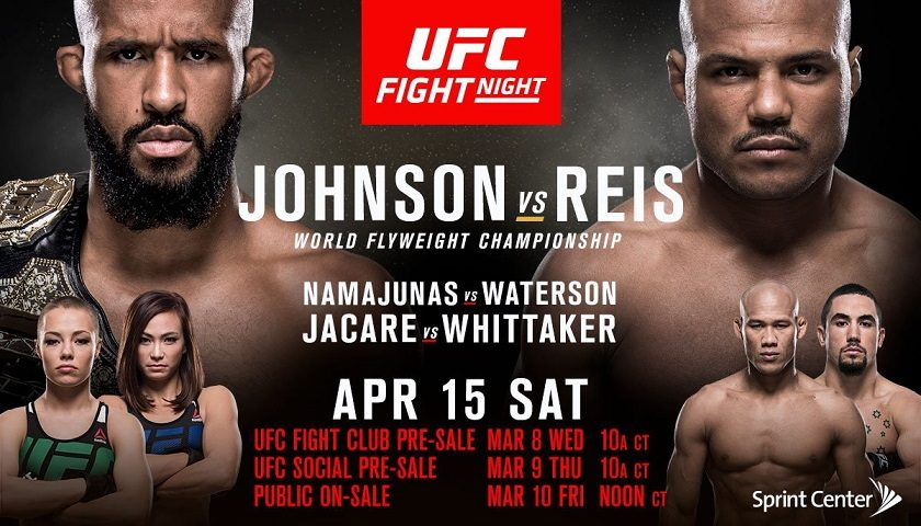 UFC on FOX 24 results:  Demetrious Johnson vs. Wilson Reis