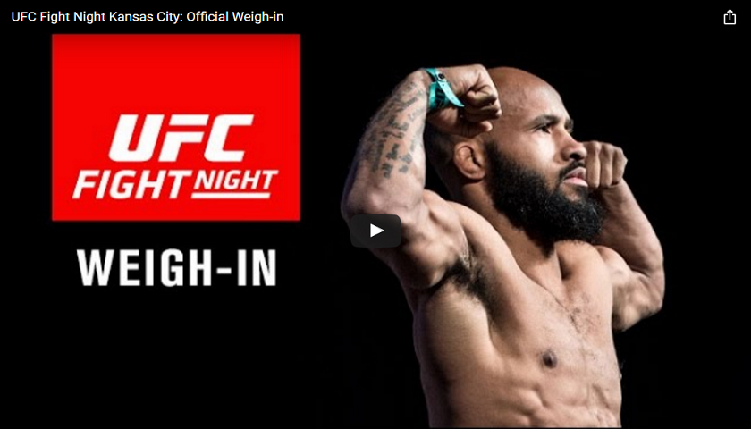 UFC on FOX 24 weigh-ins