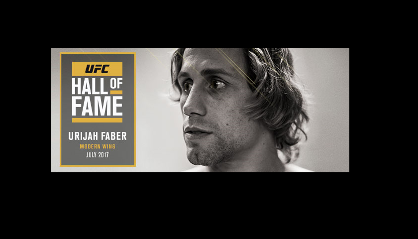 Urijah Faber to be inducted to 2017 UFC Hall of Fame class